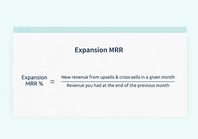 how to calculate expansion mrr