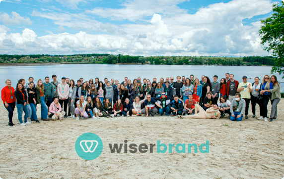 WiserBrand team